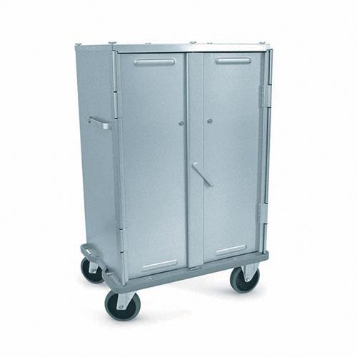 Chariots de transport fermés en aluminium