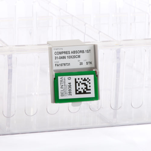 Porte-étiquette OptiScanBan™